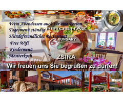 Restaurant Service Ungarn / Zsira
