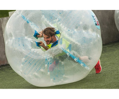 BUBBLE FOOTBALL WISSEN WIE