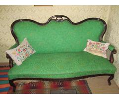 Antik Essgruppe und Sofa zu verkaufen